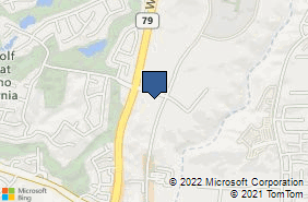 Bing Map of 29995 Technology Dr Ste 303 Murrieta, CA 92563