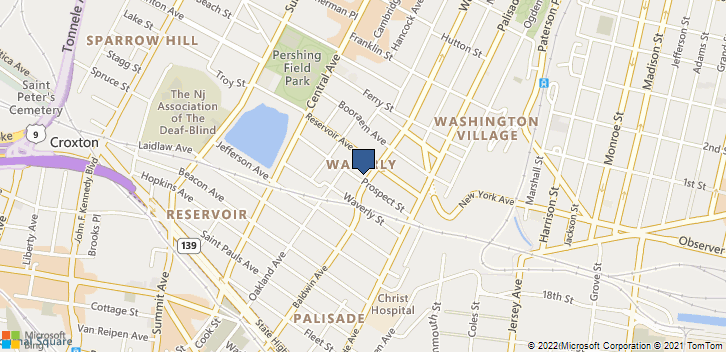 3 Webster Ave Jersey City, NJ, 07307 Map