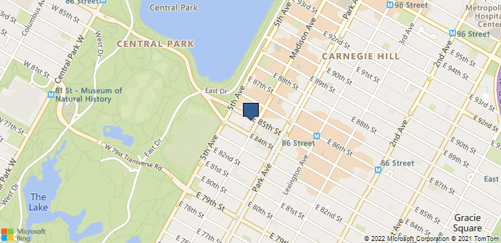 30 E 85th St 64 New York, NY, 10028 Map
