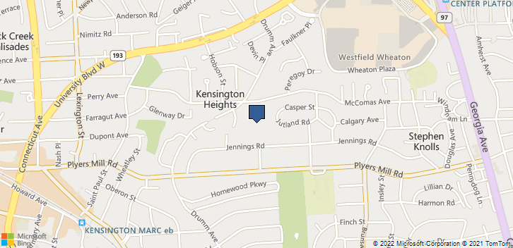 3000 McComas Ave Kensington, MD, 20895 Map