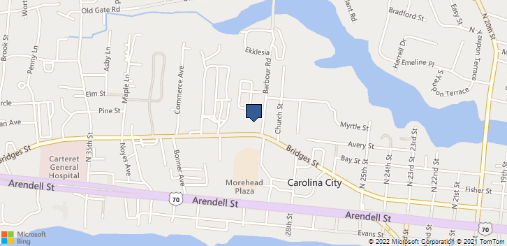 3004 Bridges Street Morehead City, NC, 28557 Map