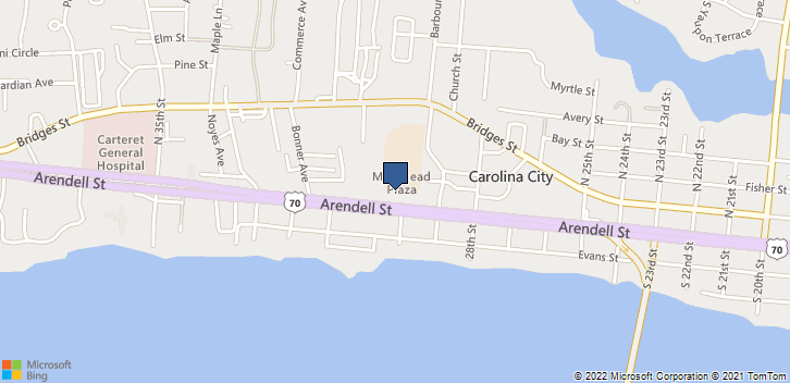 3006 Arendell Street Morehead City, NC, 28557 Map
