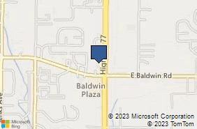 Bing Map of 3009 Highway 77 Panama City, FL 32405