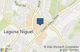 Bing Map of 30101 Town Center Dr Ste 105 Laguna Niguel, CA 92677