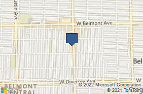 Bing Map of 3026 N Central Ave Chicago, IL 60634