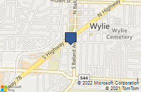 Bing Map of 303 S Jackson Ave Ste 300 Wylie, TX 75098