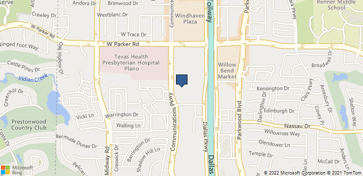 3060 Communications Pkwy Plano, TX, 75093 Map
