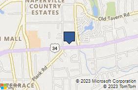 Bing Map of 3060 Ogden Ave Ste 107 Lisle, IL 60532