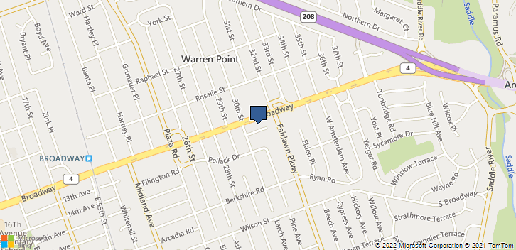 31-00 Broadway Fair Lawn, NJ, 07410 Map