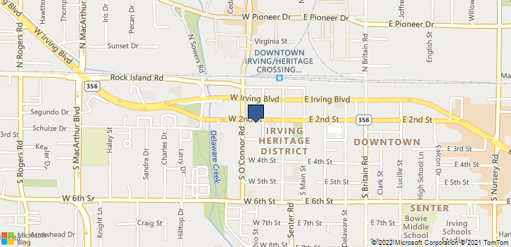 310 West 2nd Street Irving, TX, 75060 Map