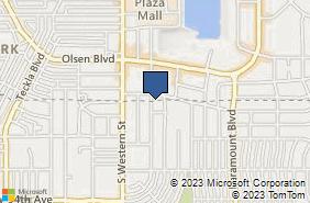 Bing Map of 3101 Hobbs Rd Ste 206 Amarillo, TX 79109