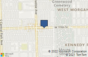 Bing Map of 3105 W 111th St Chicago, IL 60655