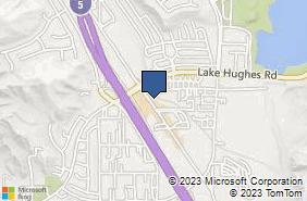 Bing Map of 31744 Castaic Rd Ste 205 Castaic, CA 91384