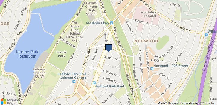 3184 Grand Concourse Bronx, NY, 10458 Map