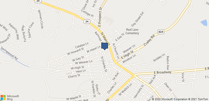 32 West Gay Street Red Lion, PA, 17356 Map