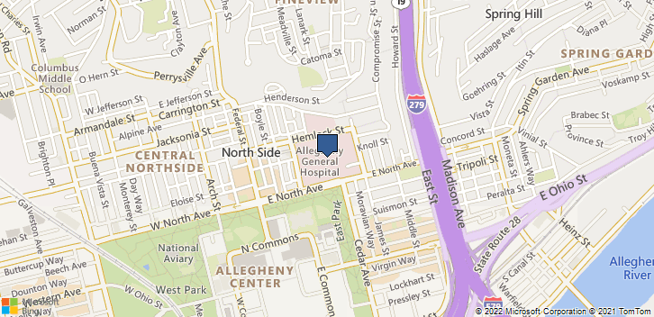 320 E N Ave Pittsburgh, PA, 15212 Map