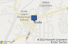 Bing Map of 320 N Main St Buda, TX 78610