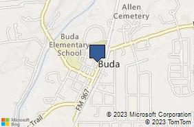 Bing Map of 320 N Main St Ste 100 Buda, TX 78610