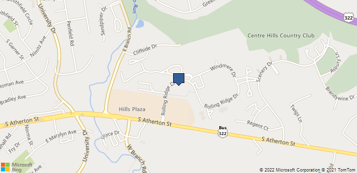 320 Rolling Ridge Dr State College, PA, 16801 Map