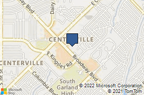 Bing Map of 3200 Broadway Blvd Ste 150 Garland, TX 75043