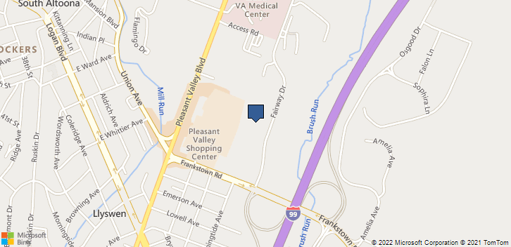 3200 Fairway Dr Altoona, PA, 16602 Map