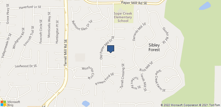 3207 Powder Mill Pl.  Marietta, GA, 30067 Map