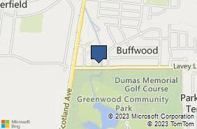 Bing Map of 3209 Lavey Ln Baker, LA 70714