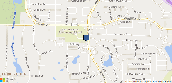 3228 Teasley Ln Denton, TX, 76205 Map