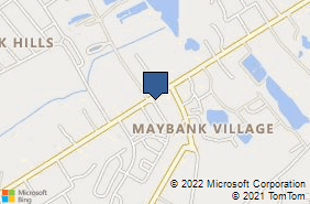 Bing Map of 3241 Maybank Hwy Johns Island, SC 29455
