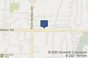Bing Map of 32730 Walker Rd Ste C5 Avon Lake, OH 44012