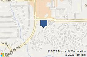 Bing Map of 32731 Egypt Ln Ste 703 Magnolia, TX 77354
