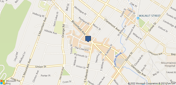 33 Church St Montclair, NJ, 07042 Map