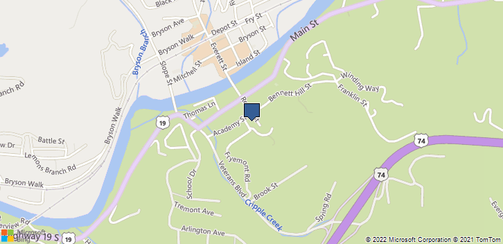 33 Fryemont Street Bryson City, NC, 28713 Map