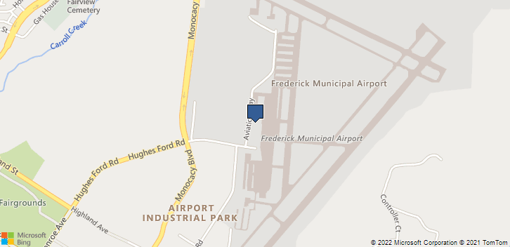 330 Aviation Way Frederick, MD, 21701 Map