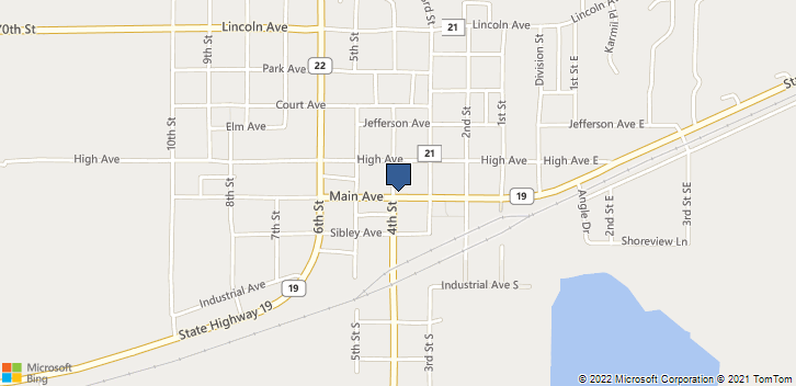 330 Main Ave Gaylord, MN, 55334 Map