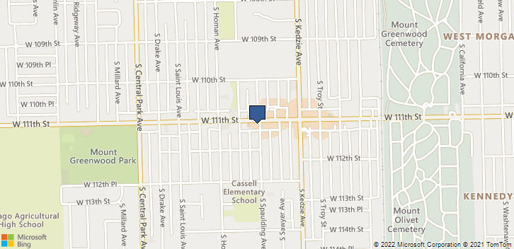 3301 W 111th St Chicago, IL, 60655 Map