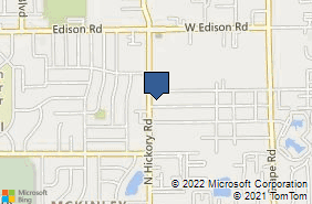 Bing Map of 3310 Hickory Rd Ste B2 Mishawaka, IN 46545