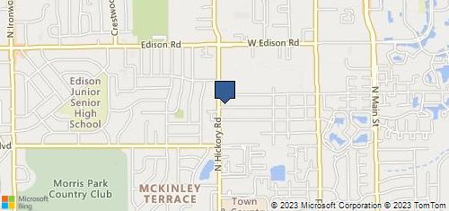 Bing Map of 3310 Hickory Rd Ste B2 Mishawaka, IN 46545