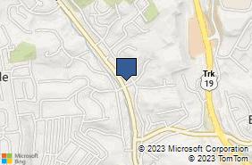 Bing Map of 3336r Babcock Blvd Pittsburgh, PA 15237
