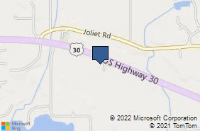 Bing Map of 334 W Us Highway 30 Ste E Valparaiso, IN 46385