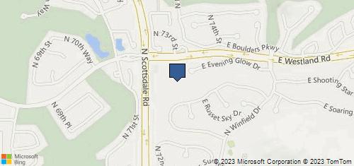 Bing Map of 33725 N Scottsdale Rd Ste H-120 Scottsdale, AZ 85266