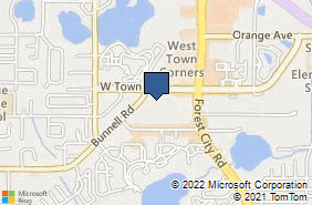 Bing Map of 340 S State Road 434 Ste 1030 Altamonte Springs, FL 32714