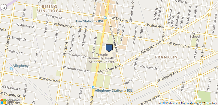 3401 N Broad St Philadelphia, PA, 19140 Map