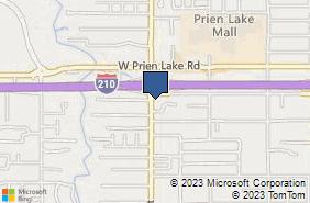 Bing Map of 3405 Lake St Lake Charles, LA 70605