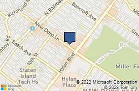 Bing Map of 345 New Dorp Ln Staten Island, NY 10306