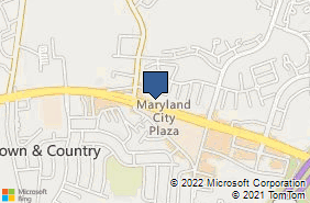 Bing Map of 3450 Laurel Fort Meade Rd Laurel, MD 20724