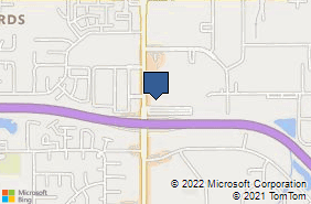 Bing Map of 3450 N Rock Rd Ste 403 Wichita, KS 67226