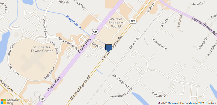 3450 Old Washington Rd. Waldorf, MD, 20602 Map