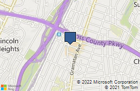 Bing Map of 35 1/2 W Grand St Mount Vernon, NY 10552