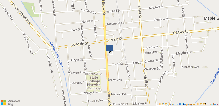 35 S Broad St Norwich, NY, 13815 Map